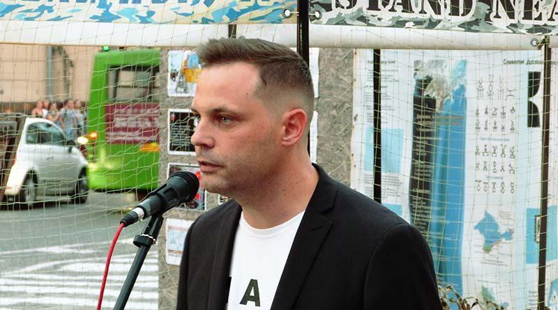 Андрей Коломийцев кандидат на пост городского головы