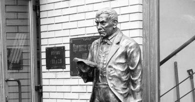 Скульптура Кисы Воробьянинова
