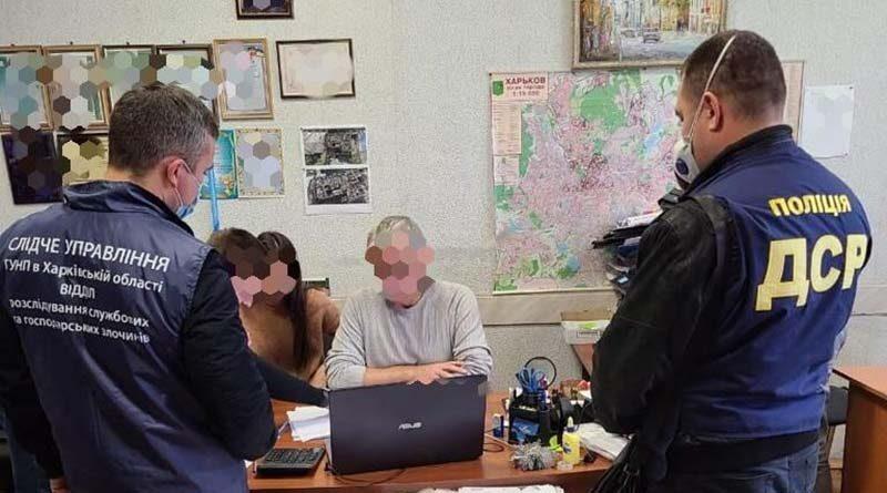 Обыск в кабинете чиновника