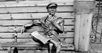 Скульптура Остап Бендер